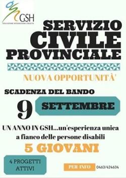 Servizio civile Trentino - Cles