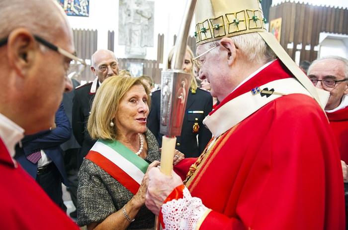 Campione d'Italia la visita pastorale del cardinale Angelo Scola