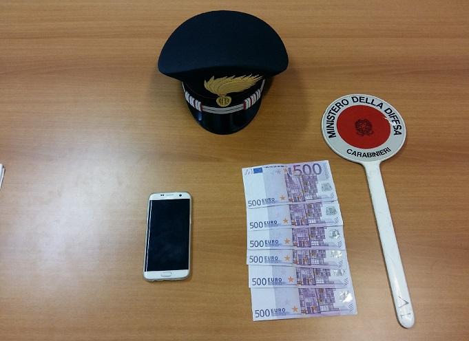 carabinieri Riva del Garda estorsione