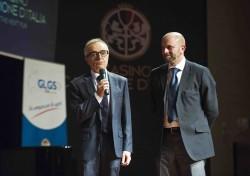 """Campione d'Italia """" Notte delle Stelle """" dello sport, Gabriele Tacchini e Giuseppe Cacace del GLGS"""