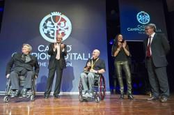 """Campione d'Italia """" Notte delle Stelle """" dello sport, premiazione di Paolo Cecchetto medaglia d'oro alle Paraolimpiadi del Brasile 2016"""
