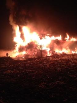 Incendio Fienile Borgo Valsugana