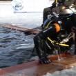 Lago di Lavarone, lo spettacolo dell'immersione di 110 sub a Under Ice 2017. VIDEO