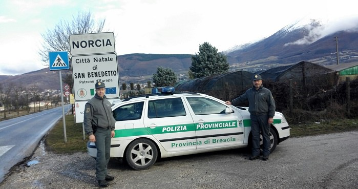 Polizia Prov Bs - Norcia 1