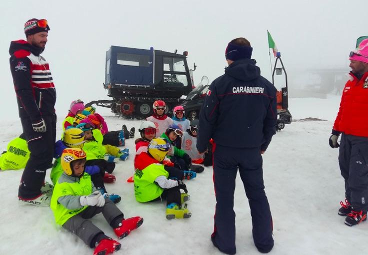 carabinieri lez sci