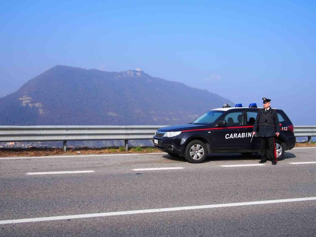 carabinieri strade controlli