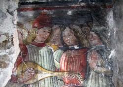 casa affreschi ossana