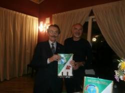 Il presidente Nezosi con l'avvocato Valseriati