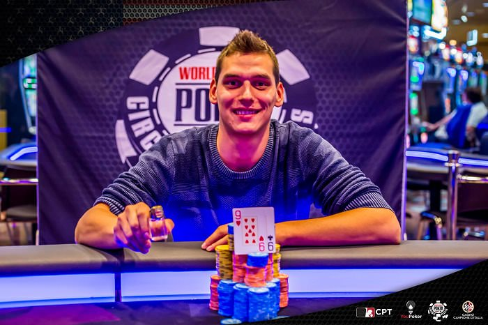 Matteo Mutti vincitore Main event WSOP Campione 01