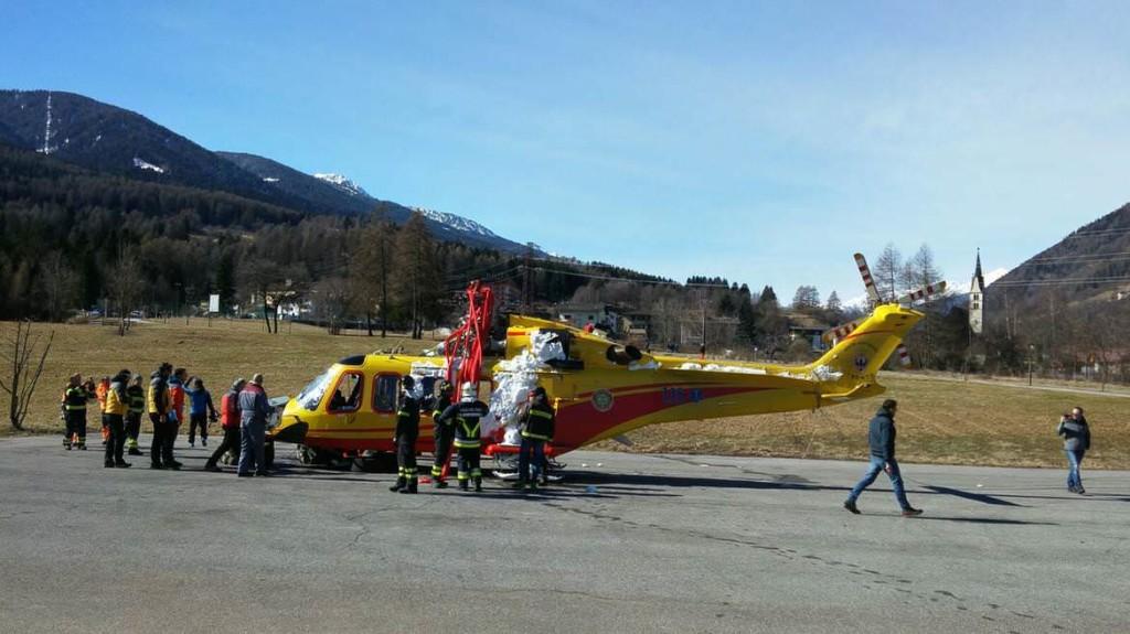Recupero elicottero 0