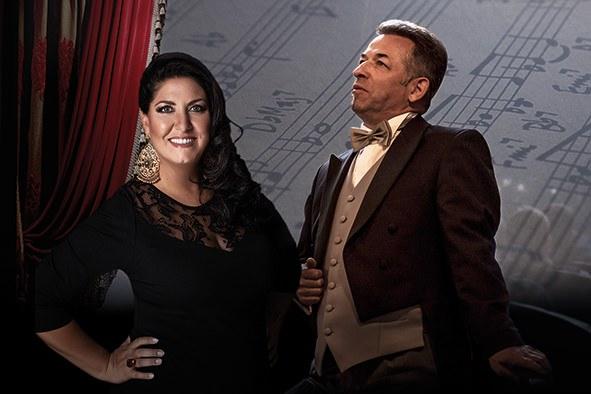 Tenore Palmieri e soprano Pirozzi