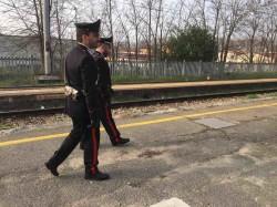 carabinieri stazione treni ferrovia