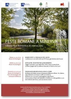 Feste a Minerva al Museo Archeologico della Valle Camonica