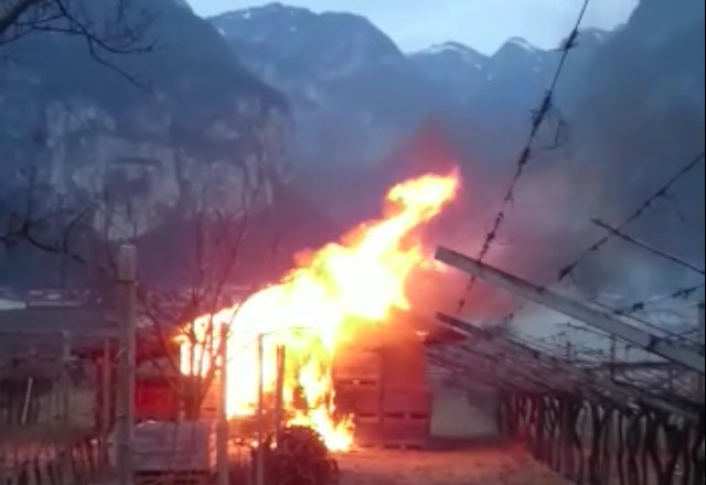 incendio Roveré