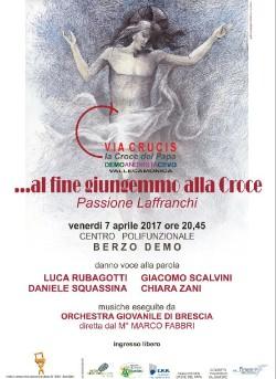 Berzo 7 aprile Via Crucis 1