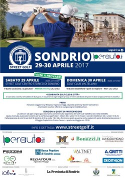Street Golf a Sondrio: il programma