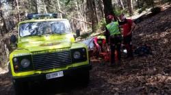 soccorso alpino boschi