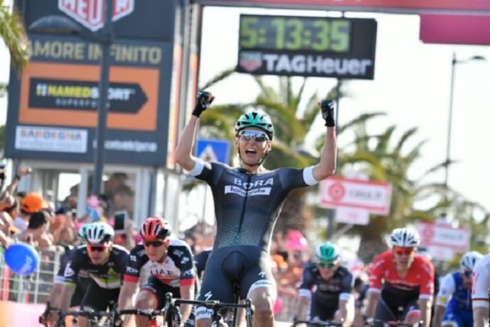 Giro Italia - Olbia arrivo 1°