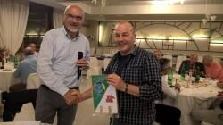 Il presidente Nezosi con Osvaldo Armanni