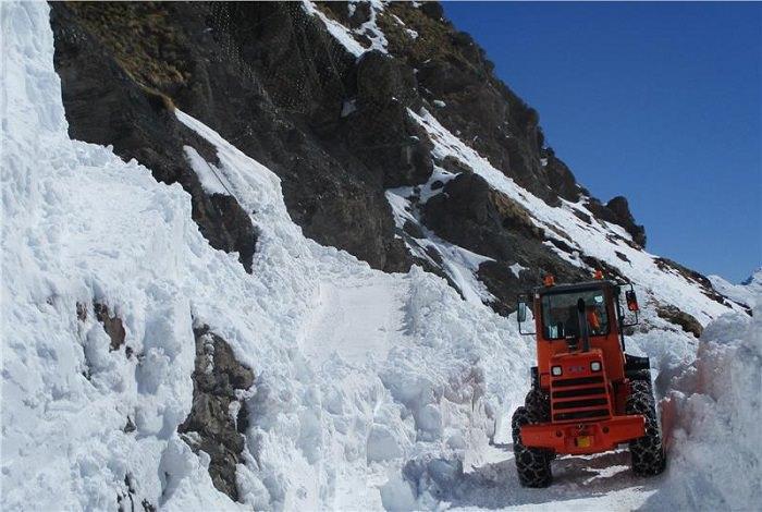 Passo Stelvio sgombero neve 1
