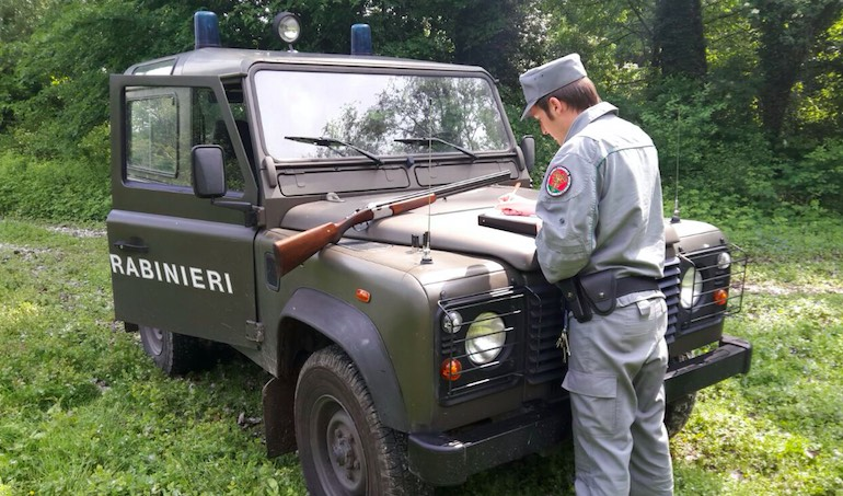 carabinieri forestal