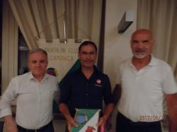 Ezio Maffi, Davide Cassani e il presidente Nezosi