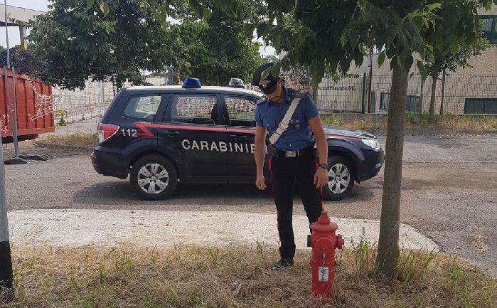 Manerba acqua carabinieri 10