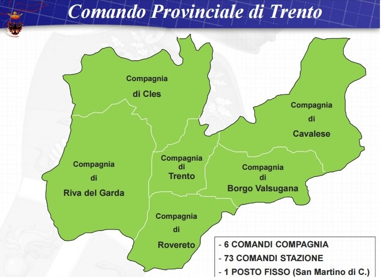 Trento - compagnie carabinieri 1
