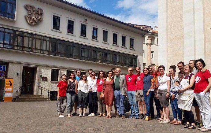 Trento festival economia piazza Maggiore