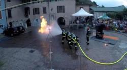 esibizione vigili fuoco