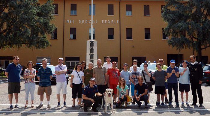 visita Mongolfiera - carabinieri 1