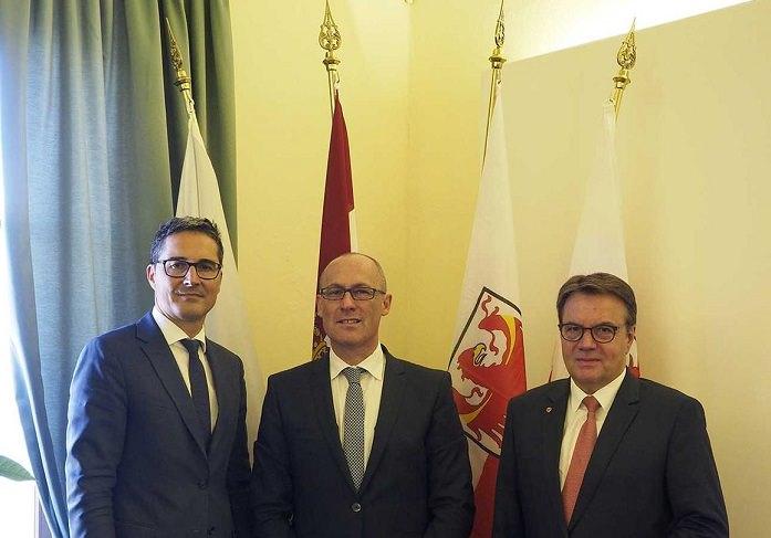Euregio - tre presidenti 1