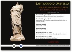 Aperture straordinarie serali Parco Archeologico Spinera di Breno