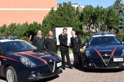 consegna giulietta trento carabinieri