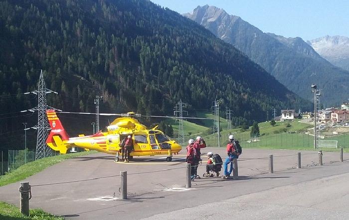 Vermiglio intervento Soccorso Alpino 1