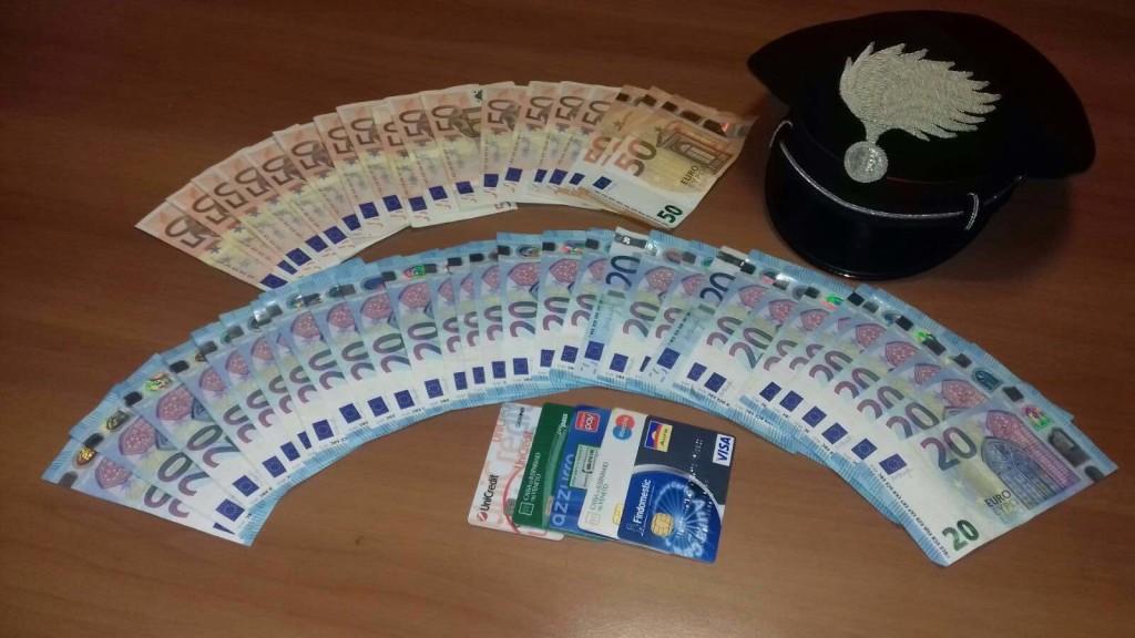 banconote carabinieri