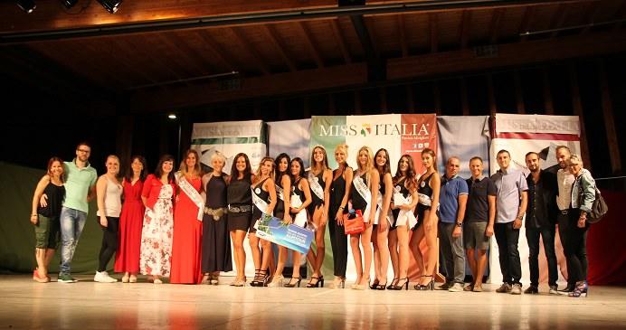 Miss Italia a Cles: finale Miss Miluna e cena di gala