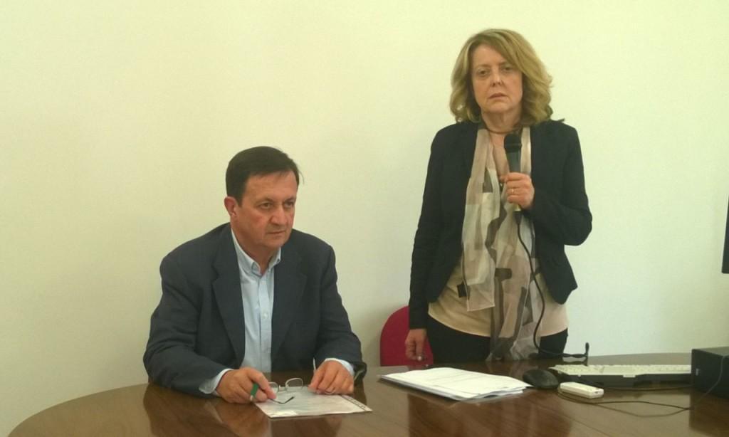 Direttori Sociosanitari dell'ATS della Montagna, Fabrizio Limonta e dell'ASST Valcamonica, Maria Assunta De Berti.