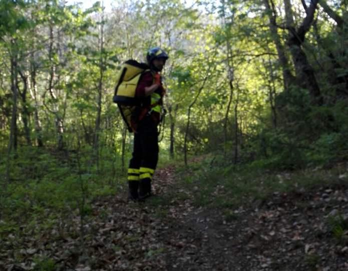 Edolo intervento Vigili del fuoco 1
