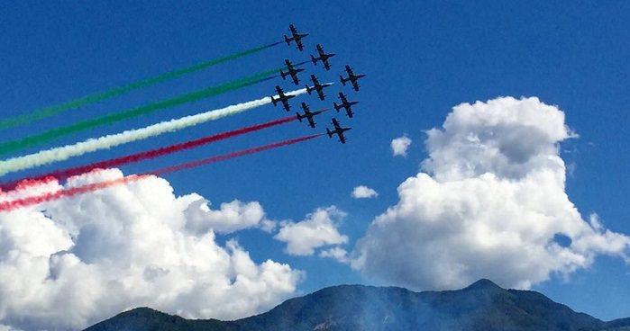 Frecce tricolori a Lovere 0