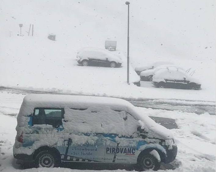 Neve Passo Stelvio