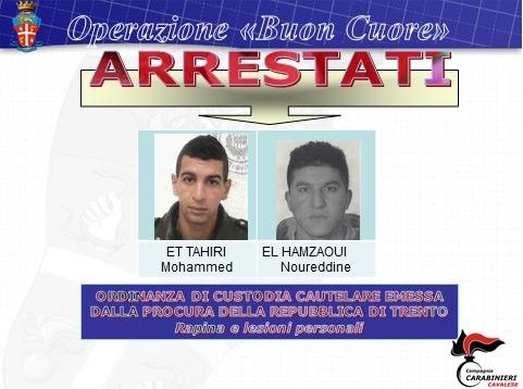 Trento arrestati