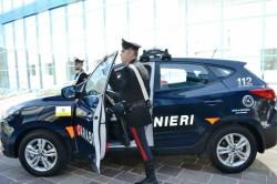 carabinieri auto idrogeno