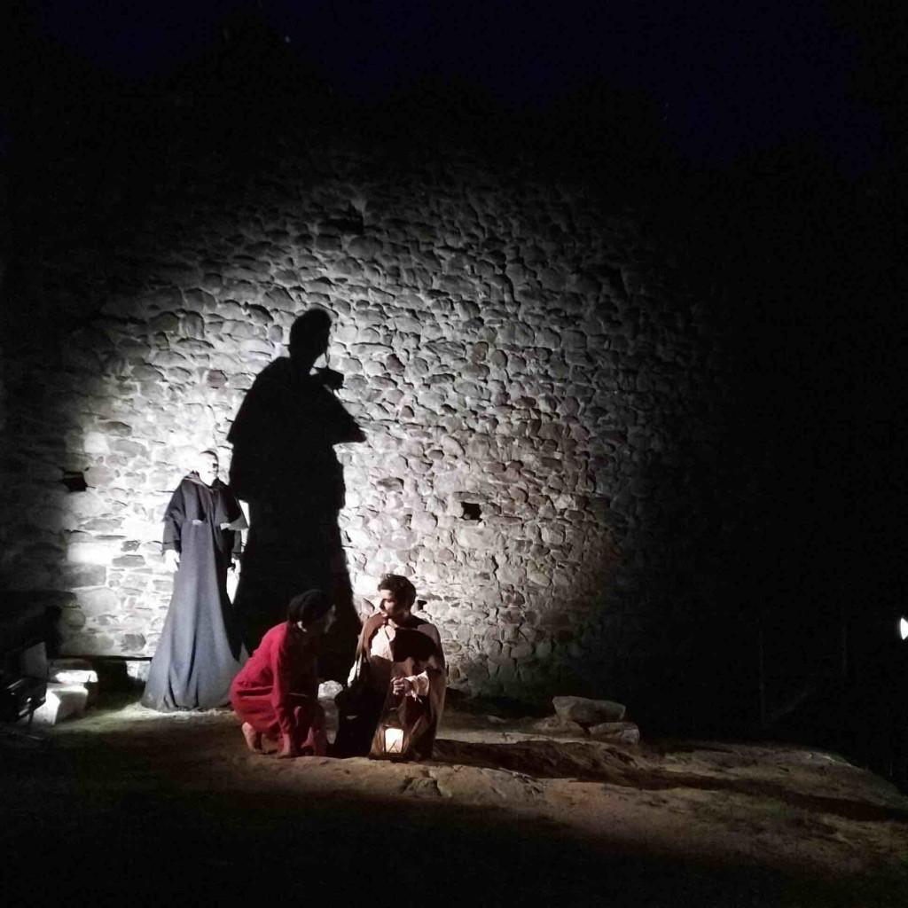 il sogno di jacopo_spettacolo teatrale al castello di ossana