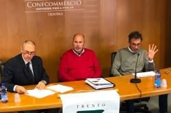 Arcadio Vangelisti, Severino Rigotti e Gigi Del Rosso