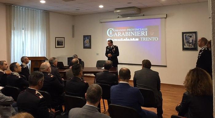 carabinieri Trento lavoro 1