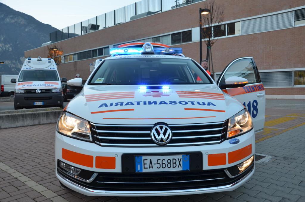 nuova ambulanza trentino