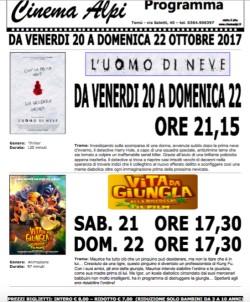 Programmazione Cinema Alpi