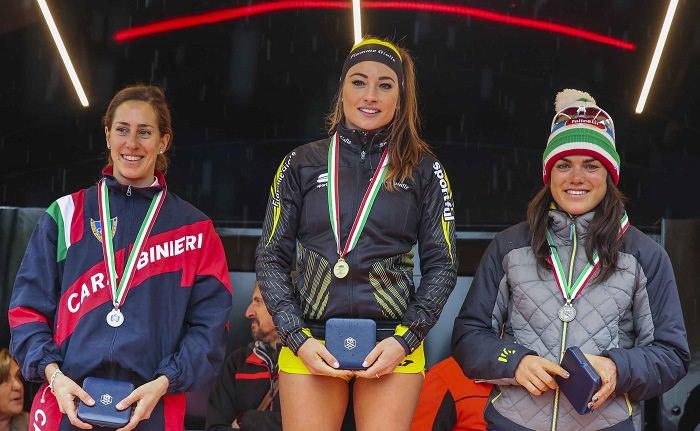 podio femminile italiano 10