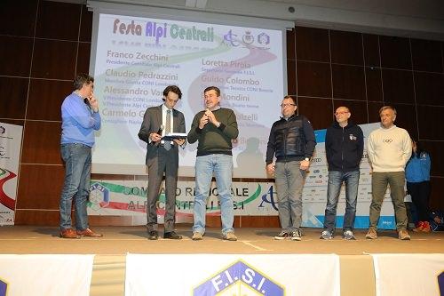 Fisi Alpi Centrali Calendario.Darfo Boario Comitato Fisi Alpi Centrali Premiati Gli